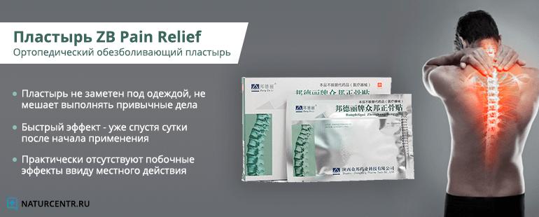 пластырь zb pain relief купить в аптеке