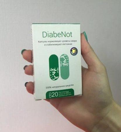 DIABENOT — средство от диабета развод
